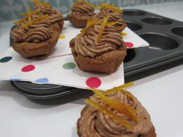Tartelettes de Mousse au Chocolat