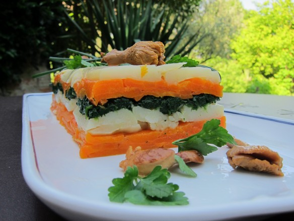 Vegetable Millefeuille