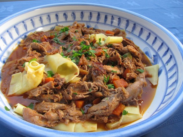 Duck Ragu with Pasta