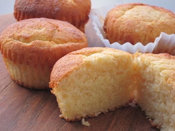 Muffins Moelleux Ricotta et Amandes