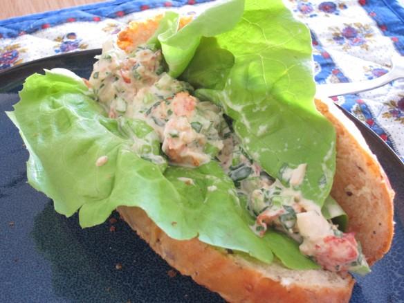 Sandwich au Homard