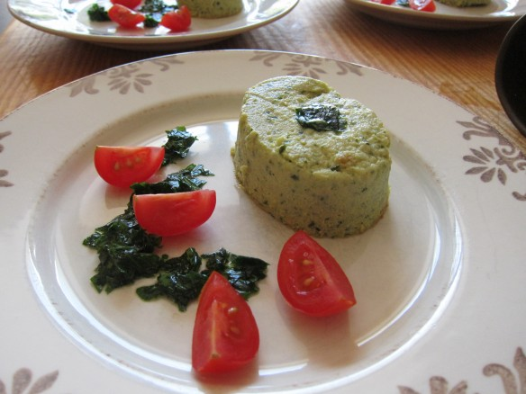 Zucchini Flans