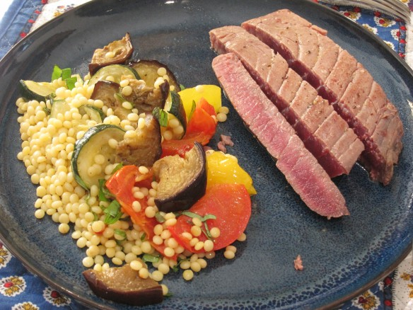 Salade de Ratatouille et Boulgour