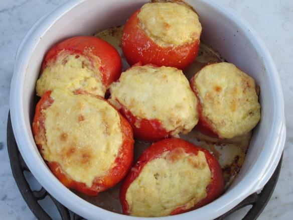 Tomates à la Crème de Ricotta